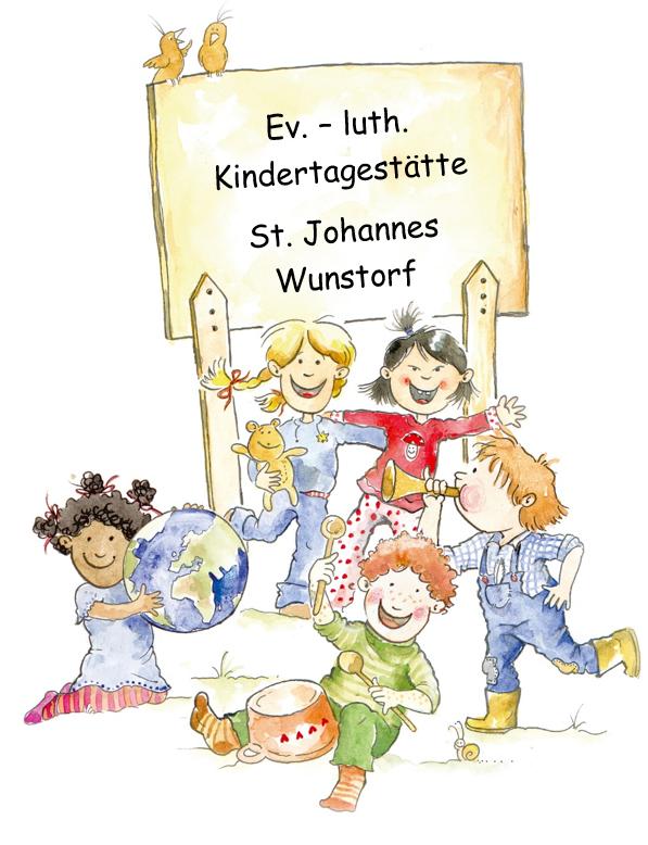 Logo: Ev.-luth. Kindertagesstätte St. Johannes